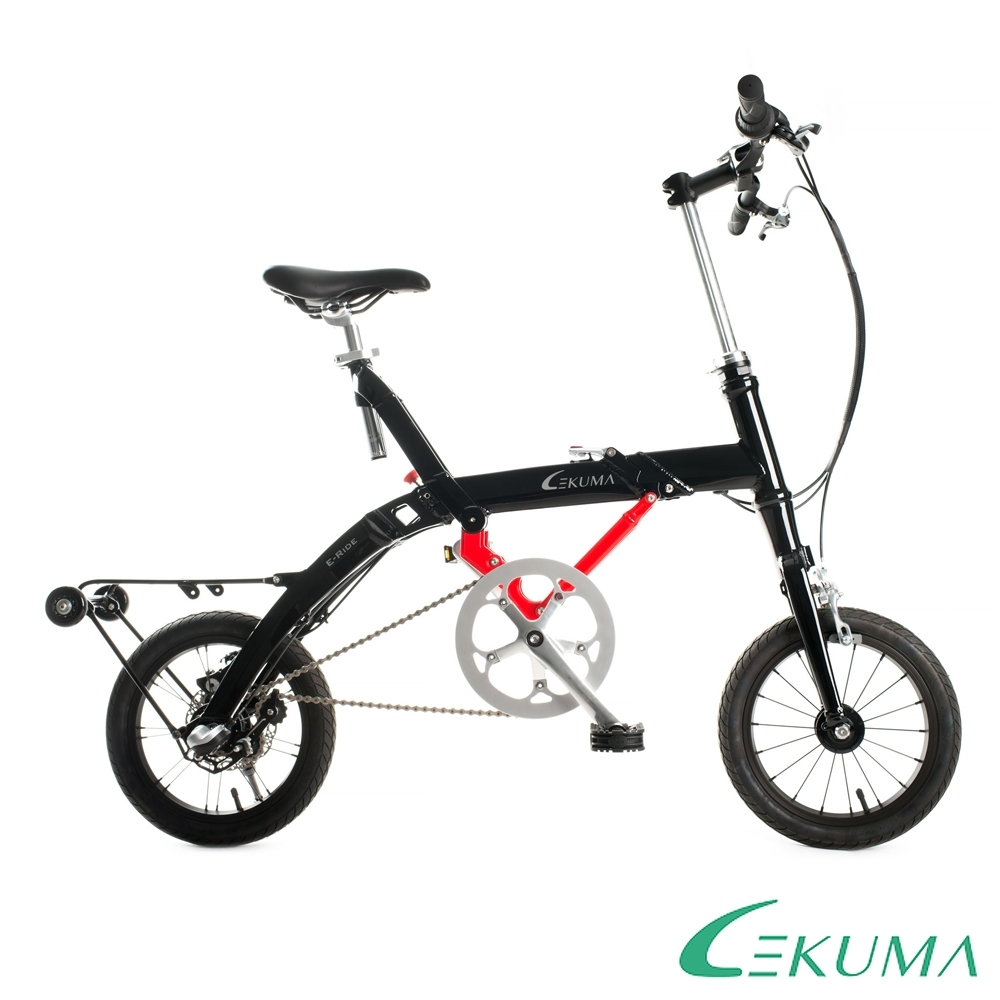 LEKUMA樂酷馬 RIDE PLUS 14吋內變3速鋁合金折疊自行車-三色