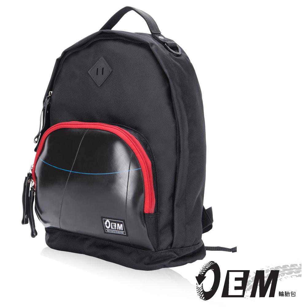 OEM- 製包工藝革命 經典款豬鼻造型後背包-紅色