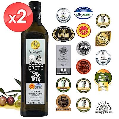 Oleum Crete 奧莉恩頂級初榨橄欖油2瓶組(750ml*2)