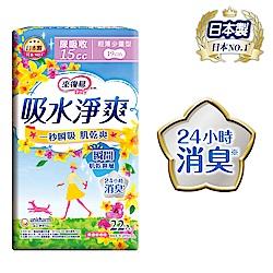 來復易 吸水淨爽輕薄少量型(22片/包)(漏尿專用)