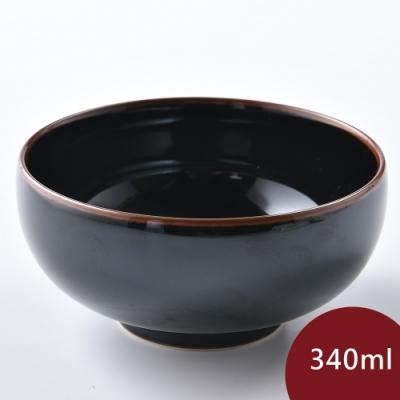 Hakusan 白山陶 飯碗 天目 340ml