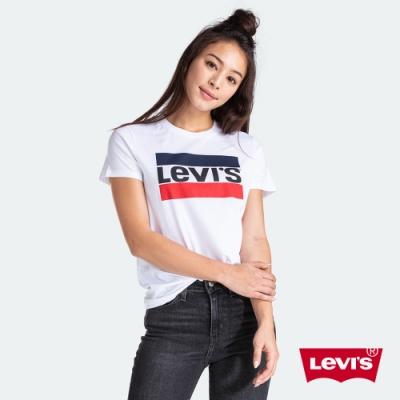 Levis 女款 短袖T恤 復古Sportwear Logo
