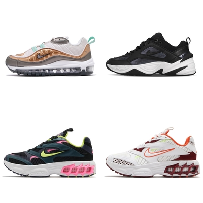 Nike 休閒 Max 98/M2K/Zoom Air Fire 女鞋 4色單一價