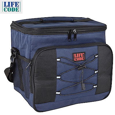 LIFECODE 歐風保冰袋/保溫袋 /保冷袋(15L)-2色可選