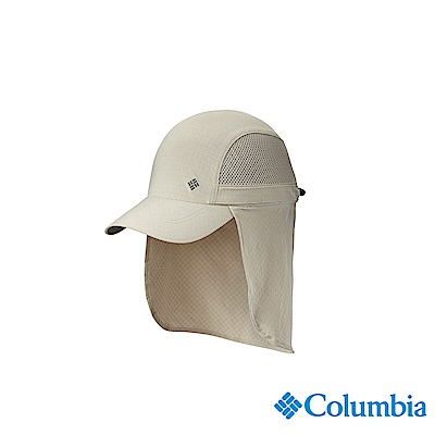 Columbia 哥倫比亞中性-UPF50涼感快排遮陽帽-卡其UCU95000KI