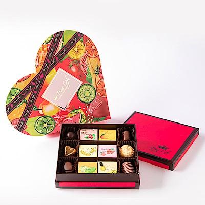 Diva Life 水果嘉年華巧克力禮盒 24入(比利時純巧克力)