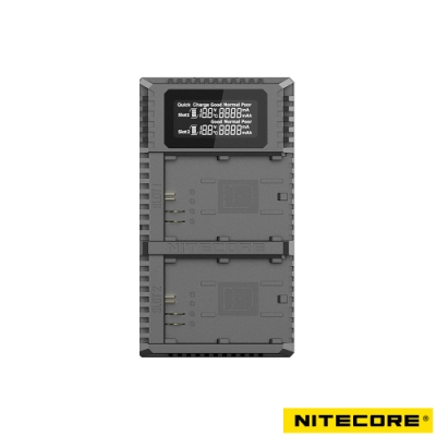 Nitecore UCN2 Pro 液晶顯示充電器 For Canon LP-E6N