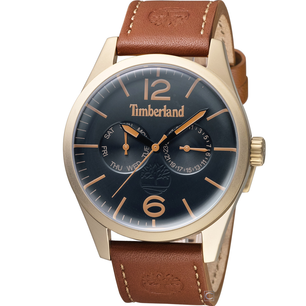 Timberland 城市型男時尚腕錶(TBL.15018JSK/02)46mm