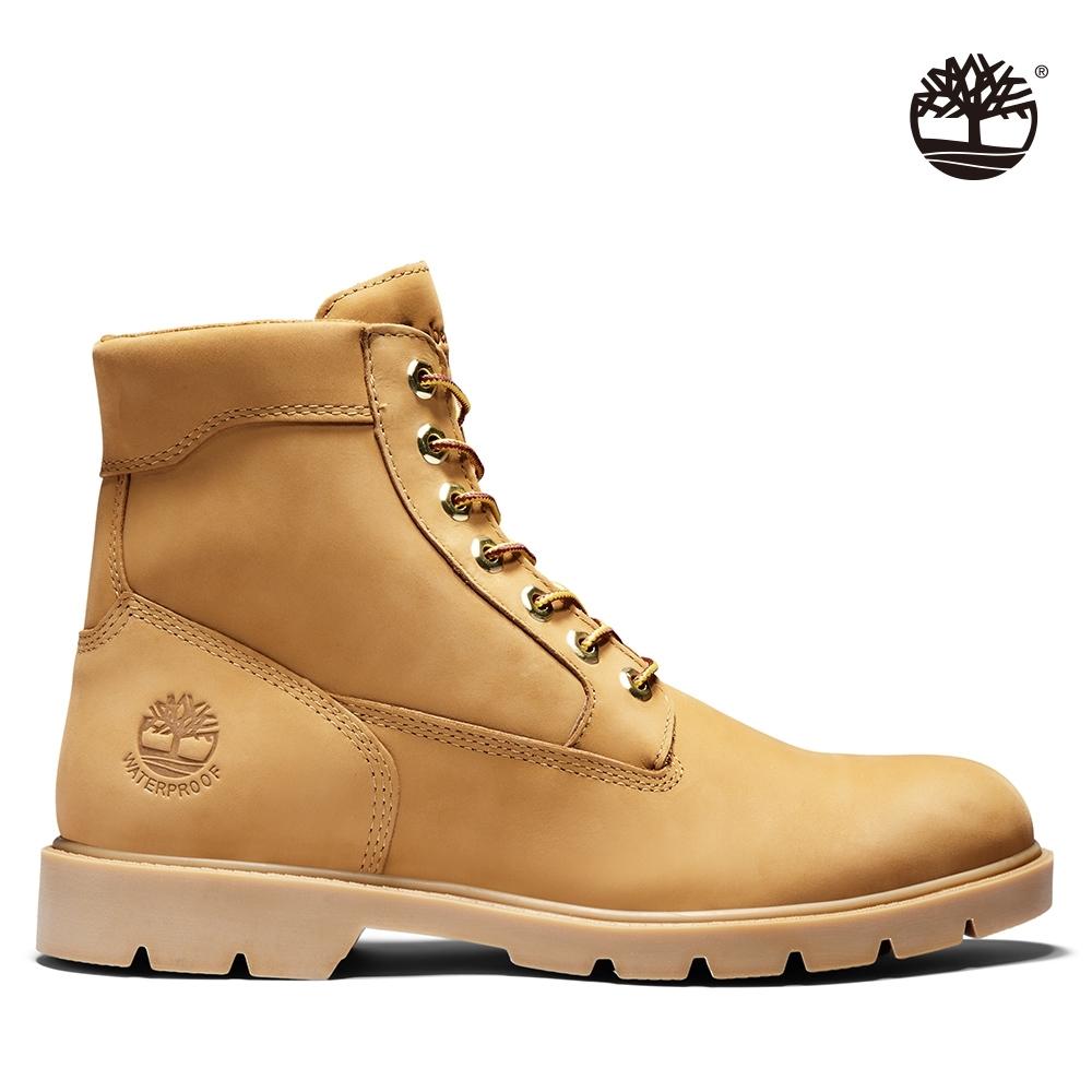 Timberland 男款小麥黃磨砂革6吋靴|19079