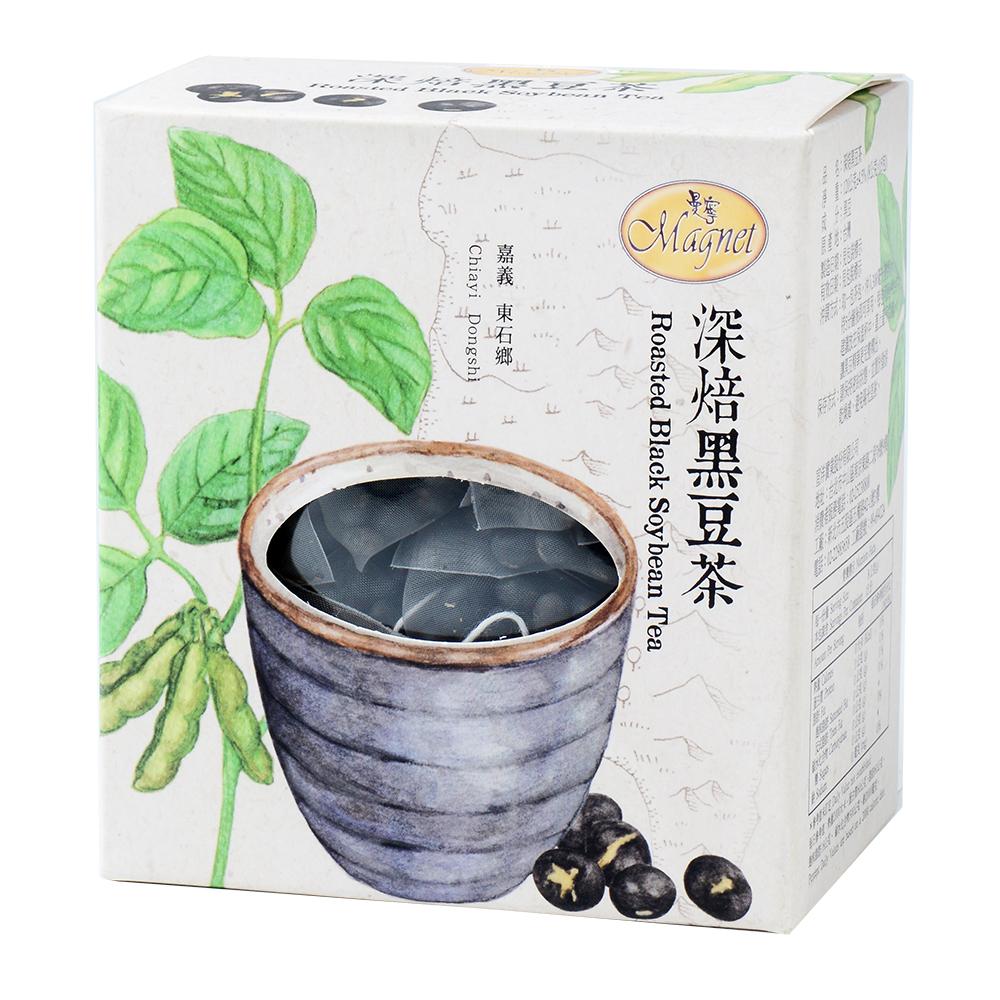 曼寧 台灣花茶-深焙黑豆茶(8gx15包)
