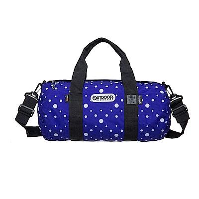 圓桶包-藍紫圓點 OD23145DPL