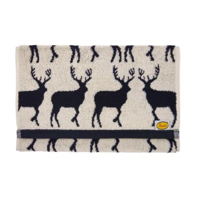日本丸真 Anorak英倫設計款毛巾-麋鹿