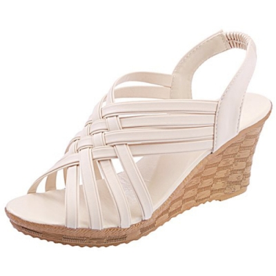 KEITH-WILL時尚鞋館 獨家價好感印象涼跟鞋-米