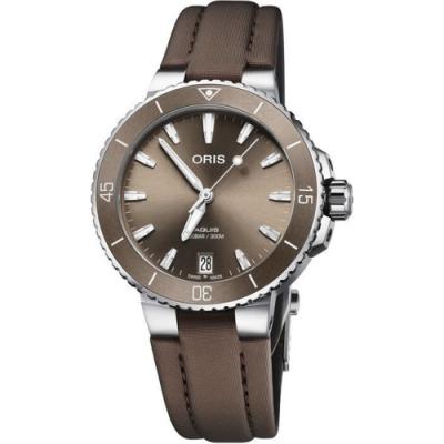 ORIS 豪利時 Aquis日曆機械錶-36.5mm