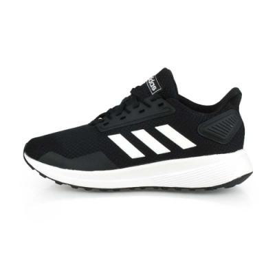ADIDAS 中童慢跑鞋 DURAMO 9 K WIDE 黑白