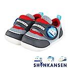 (雙11)ShinKanSen新幹線 輕量抗菌防臭電燈學步童鞋-灰