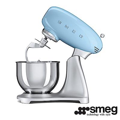 義大利 SMEG  抬頭式攪拌機  - 粉藍色 SMF01PBTW