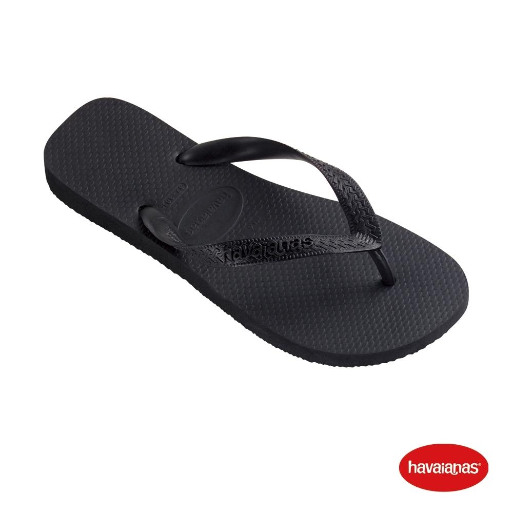 Havaianas  哈瓦仕 拖鞋 夾腳拖 巴西 男女鞋 黑 4000029-0090U Top