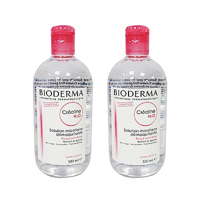 BIODERMA 高效潔膚液 500ml 兩入組 (Crealine 一般及敏感肌)