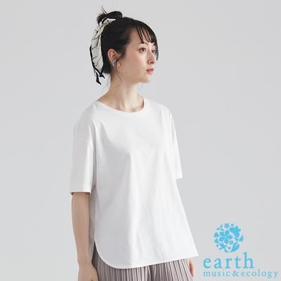 earth music 吸水速乾純棉短袖T恤