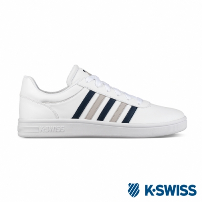 K-SWISS Court Cheswick S 休閒運動鞋-男-白/藍