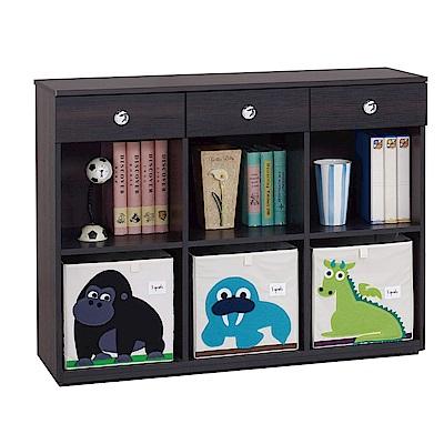 綠活居 莎薇4尺多功能置物櫃/收納櫃(二色)-118.5x37.2x90cm-免組
