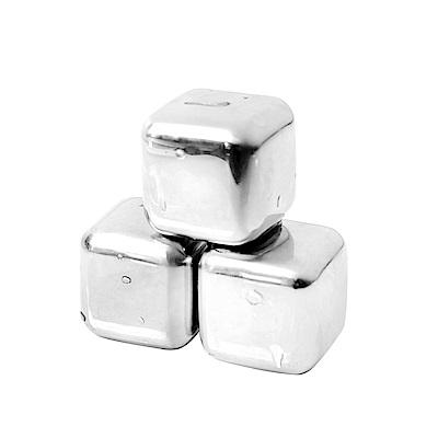 AURA艾樂 304不鏽鋼環保冰塊8入組(附專用夾&收納盒)