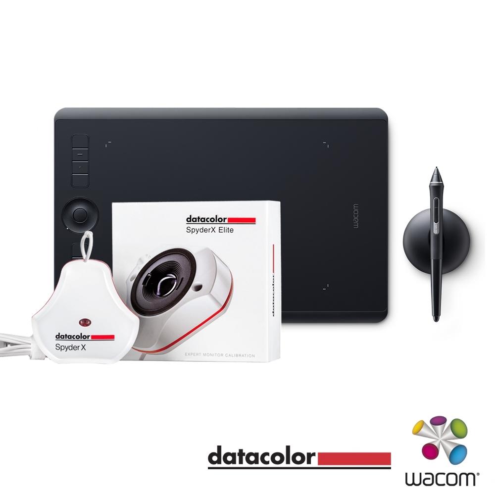 WACOM  Intuos Pro 專業繪圖板(中) + Datacolor 螢幕校色器 套組
