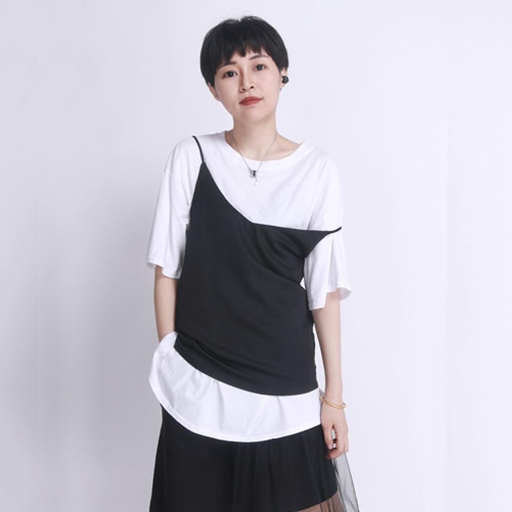 設計所在Style-冰絲吊帶性感夏季仿真絲外穿小背心內搭上衣