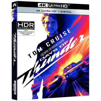 霹靂男兒 Days of Thunder  4K UHD  單碟版