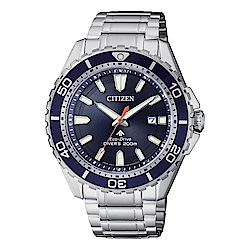 CITIZEN 星辰PROMASTER 深海潛水運動流線腕錶/200米/BN0191-80