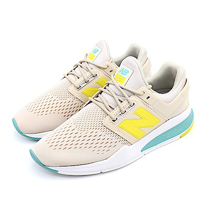 New-Balance女休閒鞋 WS247FE-B 米白