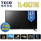 TECO東元 全新福利品 43型液晶顯示器+視訊盒 TL43K2TRE+TS1308TRA