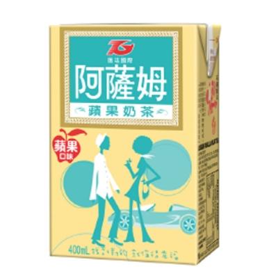 匯竑 阿薩姆蘋果奶茶(400mlx6入)