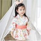 Baby童衣 日式和服浴衣洋裝 印花圖案浴衣洋裝 60364