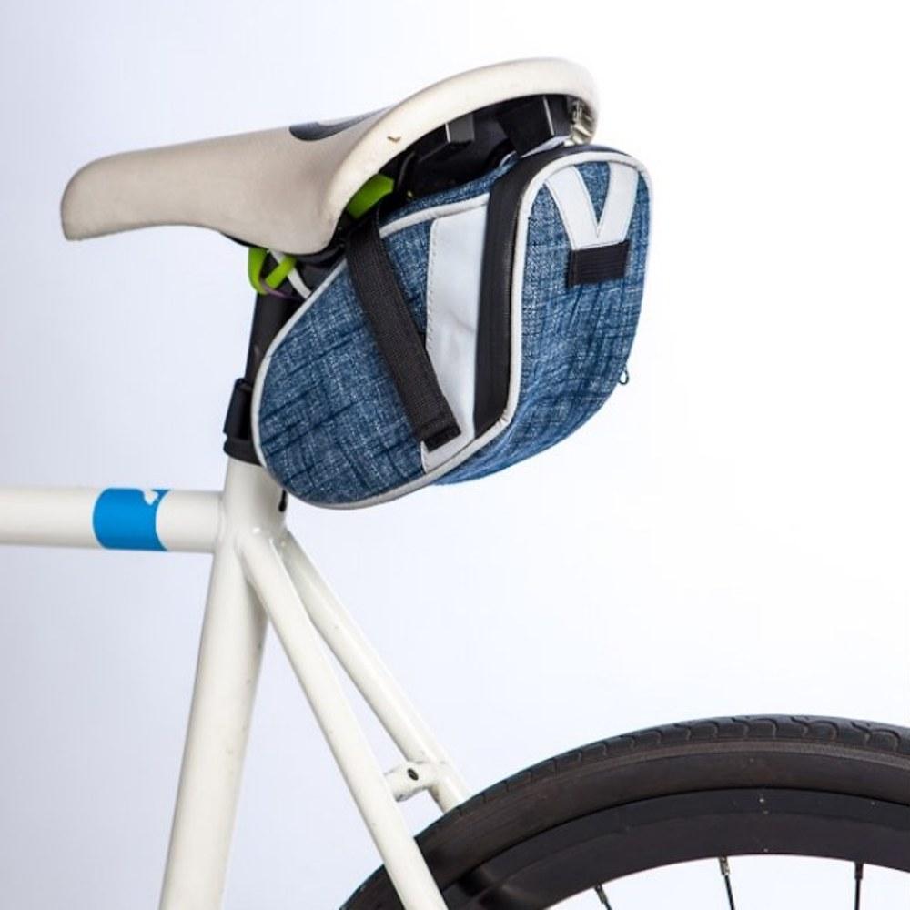Walco 單車反光座墊包-丹寧款
