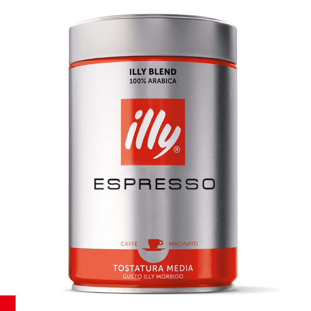 illy 中烘焙ESPRESSO咖啡粉 (250g)