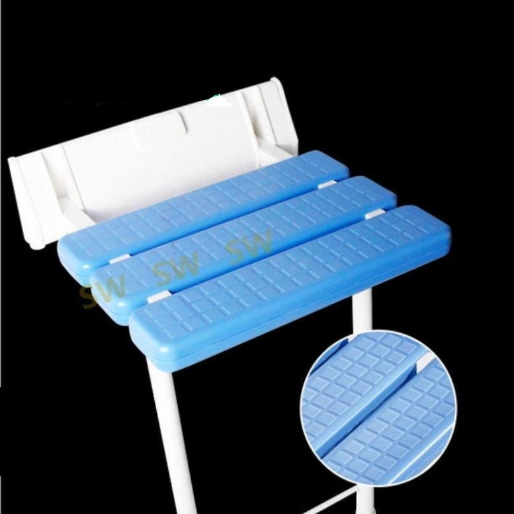 IB002 防滑浴室折疊椅帶腳 安全坐椅承重180公斤 衛生間淋浴壁椅 浴室折疊凳