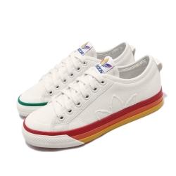 adidas 休閒鞋 Nizza Pride 復古 男女鞋