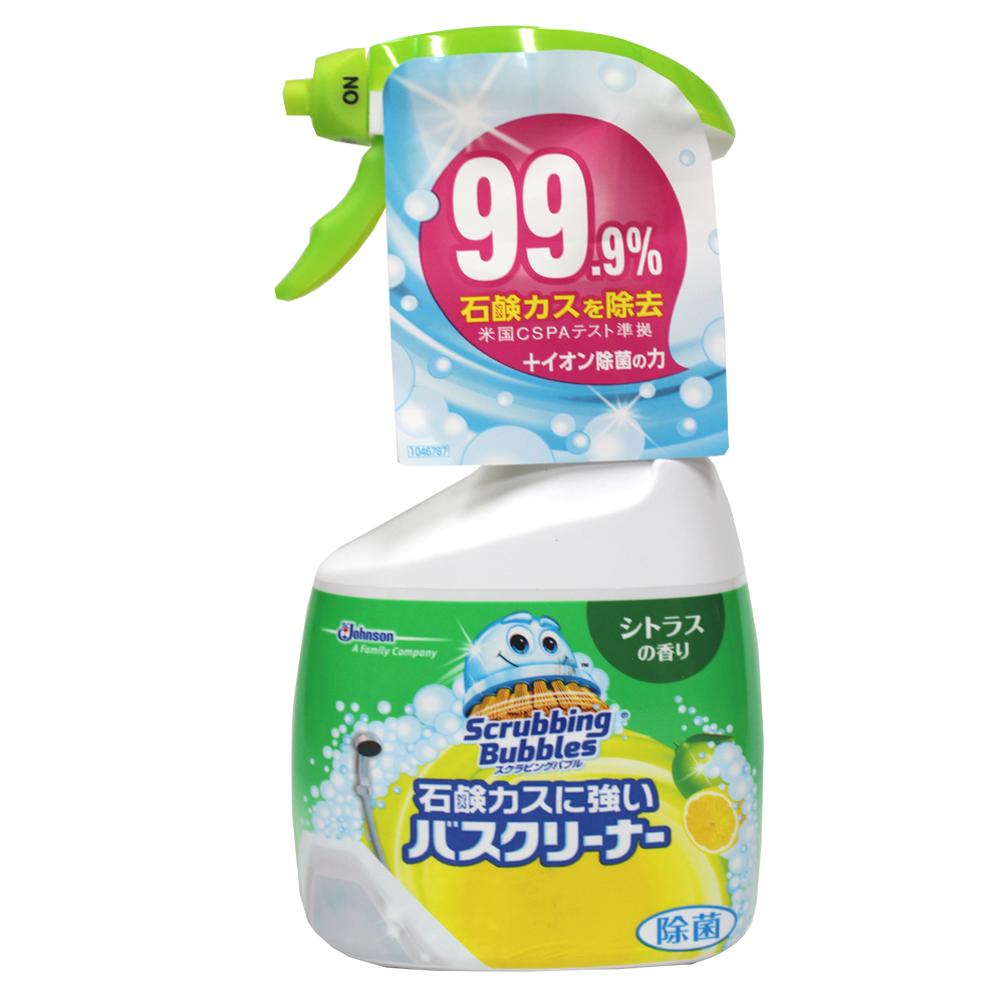 日本JOHNSON石鹼超強清潔劑-清新柑橘香(400ml/瓶)