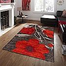 Ambience 比利時Blossom現代地毯-嫣紅 (135x190cm)
