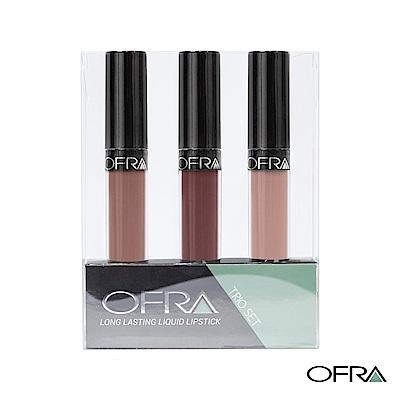 OFRA x MannyMUA 聯名液態唇膏時尚裸粉系列- #016 6gx3