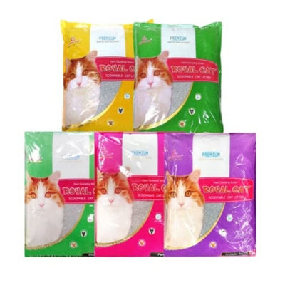 【3包組】皇家 Royal Cat 貓沙10L 多種香味可選