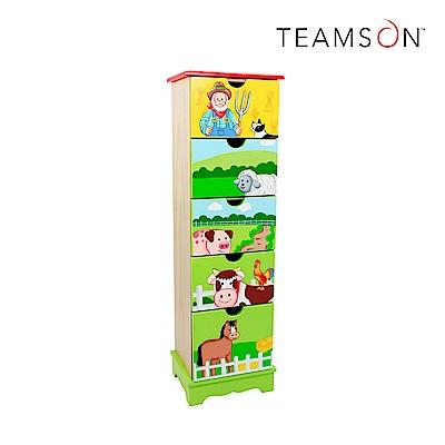 Teamson 快樂農場五層抽屜收納櫃