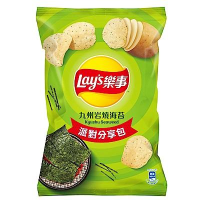 樂事派對分享包-九州岩燒海苔味洋芋片(151g)