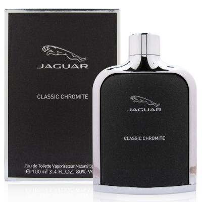 JAGUAR積架 Chromite捷豹魅力男性淡香水100ml贈JAGUAR積架鑰匙圈乙份