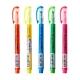 日本KOKUYO獨角仙螢光筆Beetle Tip 3way maker PM-L301-5S(5色組)日本平行輸入 一支筆有3種劃線方法 product thumbnail 1
