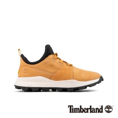 Timberland 男款小麥色磨砂革Brooklyn跑酷鞋|A26GG