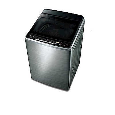 Panasonic國際牌 15KG 變頻直立式洗衣機 NA-V168EBS-S 不鏽鋼