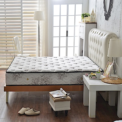 A家-女性專用-超涼感抗菌-護邊蜂巢獨立筒床墊-雙人加大6尺-護腰麵包床